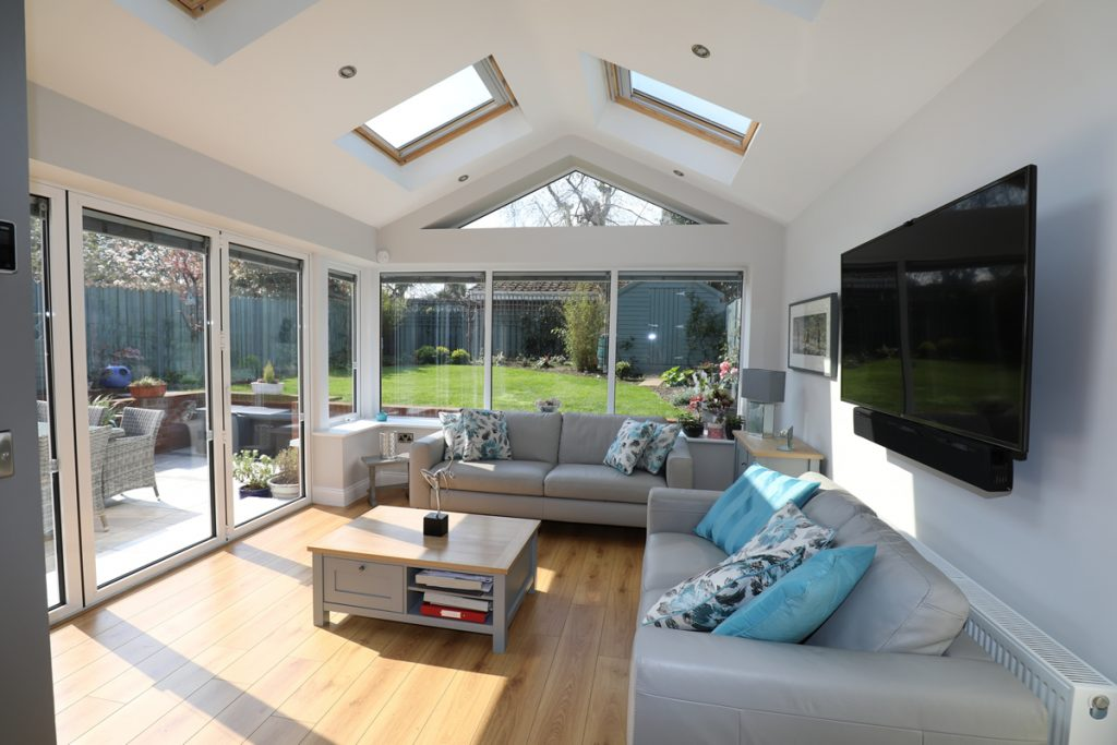 Arkwood Construction Sunroom Extension