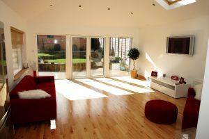 Arkwood Construction Sunroom Extension