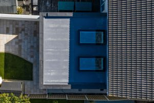 Arkwood Construction Flat Roof Extension Overhead View