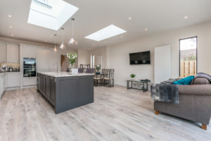 Arkwood Construction Flat Roof Kitchen Extension