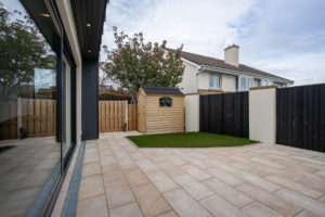 Arkwood Granite Patio and Artificial Grass